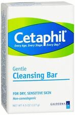 Cetaphil Gentle Cleansing Bar for Dry/Sensitive Skin 4.50 oz