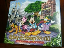 Walt Disney World Official Album, 2 CD SET, NEW Disney Parks