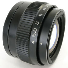 *Virtually NEW* 10 A/Blades SUPER Macro INDUSTAR-100U 4/110 Russian Lens M39 M42