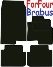 Tailored Deluxe Quality Car Mats Smart ForFour BRABUS 2004-2007 ** Black **