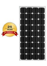 140W Watt 12V Volt Solar Panel RV Camping Off Grid Battery Boat Photovoltaic