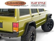 Bushwacker 10922-07 Front & Rear Flat Style Fender Flares for 84-01 Cherokee