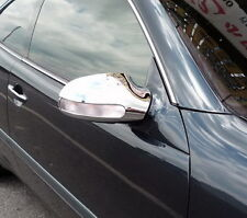 MERCEDES BENZ SLK CONVERTIBLE CLASS R170 NEW CHROME MIRROR TRIMS 2000 - 2004