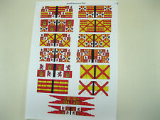 15mm médiéval renaissance italienne guerres drapeaux espagnols