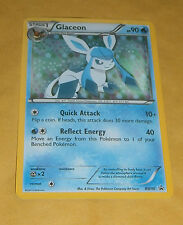 POKEMON PROMO CARD - BLACK AND WHITE - GLACEON BW90 (HOLOFOIL) - SYLVEON BOX