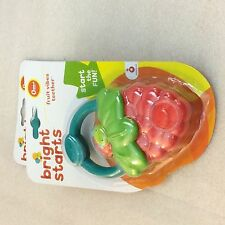 Lot of 2- Bright Starts Fruit Vibes Teether,  baby teething toy