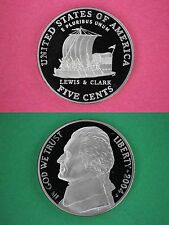 2004-S Proof Lewis & Clark Nickel Deep Cameo Coin Flat Rate Shipping