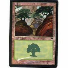 Lot de 10 forêts PREMIUM / FOIL - Forests - Terrain Lands  Magic Mtg -