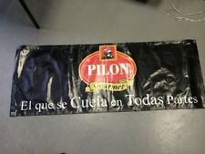 Cafe Pilon Gourmet Expresso Coffee Vinyl Wall Banner Restaurant Issued