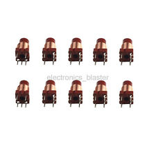 10pcs 12T 0.6-1.7uh  High-frequency Winding Inductance Coil Adjustable