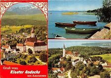 B56408 Ammersee Andechs Abbey boats bateaux multiviews  germany