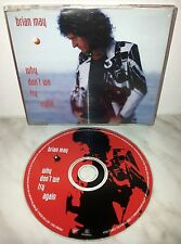 CD BRIAN MAY - WHY DON'T WE TRY AGAIN - 1 TRACK - PROMO SINGLE