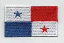 Embroidered PANAMA Flag Iron on Sew on Patch Badge HIGH QUALITY APPLIQUE
