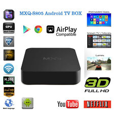 Amlogic S805 Smart TV Box Android4.4 Quad Core IPTV Media Player 1G+8G Kodi WIFI