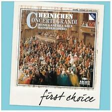 First Choice: Heinichen Concerti Grandi, New Music