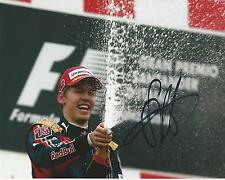 Sebastian Vettel signed 10x8 Image G photo UACC Registered dealer