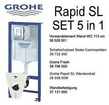 Grohe Rapid SL Vorwandelement für Wand WC Set 5 in 1 !!!!!