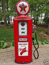 TEXACO FIRE CHIEF MODEL 39 TOKHEIM FULL SIZE GAS PUMP-VINTAGE RE-CREATION
