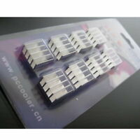Aluminum Memory Cooler Heat Sink For DDR DDR2 DDR3 RAM - UK SELLER