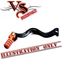 Apico Forged Gear Lever  KTM SX65 09-15 Black and Orange