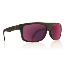 Dragon Alliance Wormser Sunglasses Matte Black Frames Purple Plasma Ion Lenses