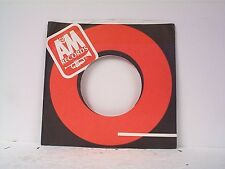 3-A&M  (1980) RECORD COMPANY 45's SLEEVES  LOT# 32