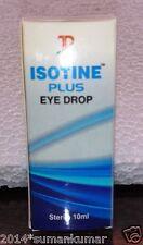 Isotine plus eyedrop for Color Blinness myopia vial glucoma CVS cataract 10ml