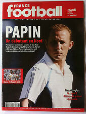 France Football du 28/09/2008; Papin/ Le MAns/ Lorient/ Wiltord/ Benzema
