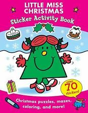 Little Miss Christmas Sticker Activity Book (Mr. Men and Little Miss) Hargreave