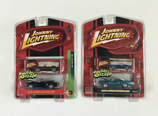 JOHNNY LIGHTNING 60'S SIZZLE #1 & #4 Limited Edition 1 of 5000 New in Package