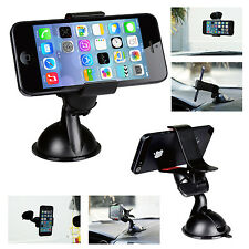 Universal Car Windshield Mount Holder Bracket For iPhone 6/5/4 Samsung Phon