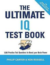The Ultimate IQ Test Book: 1000 Practice Test Questions to Boost Your Brain...