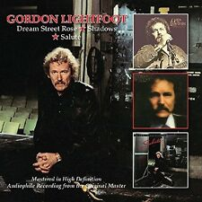 GORDON LIGHTFOOT - DREAM STREET ROSE/SHADOWS/SALUTE DOPPEL-CD NEU