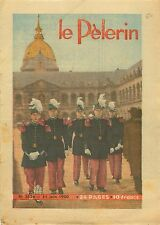 Uniforme Élève-officier de Saint-Cyr aux Invalides Paris 1950 ILLUSTRATION