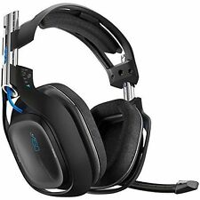 Astro A50 Wireless Gaming Headset Headphones - Black - PS4 - PS3 - PC - MAC - UK
