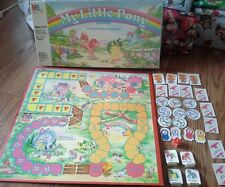 Vintage 1986 My Little Pony Board Game Milton Bradley Prize Winning Race Brony
