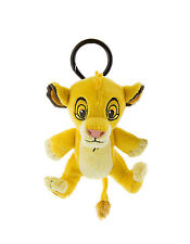 Disney Parks Simba from The Lion King  Plush Doll Purse Hanger Keychain NEW