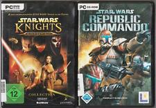 Star wars knights of the old republic 1 & 2 the sith lords + republic commando