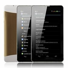 XGODY 7'' Dual Core Android 4.4 3G WCDMA Dual Sim Cell Phone Unlocked HD Tablet