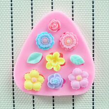 Flower Leaf DIY Silicone Fondant Lace Chocolate Candy Mold Cake Decorating Tool