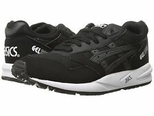 NEW - ASICS Men's GEL-SAGA H548Y-9090 Black/White RUNNING SHOES - 10 / 44