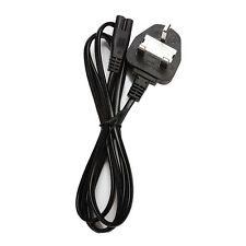 Laptop 2 pin Figure 8 Eight Power Cord Cable UK lead
