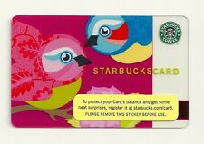 STARBUCKS GIFT CARD ~ 2005 LOVE BIRDS ~ UNUSED