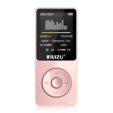 8GB 16GB RUIZU X02 Sport Mini Lossless HIFI MP3 Music Player Recorder FM Radio