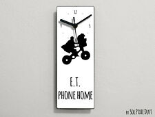 ET Extraterrestria - E.T. phone home - Wall Clock