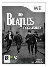 Nintendo Wii Rock Band Beatles-Nla VideoGames