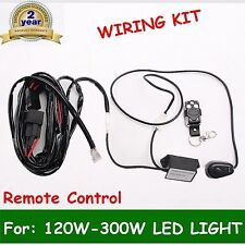 Remote Control Wiring Harness Kit Switch Relay Led Light Bar 120W 240W 300W 2M
