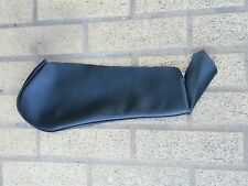BMW E30 325i SPORT SEAT REPLACEMENT 1 BOLSTER BLACK GERMAN VINYL UPHOLSTERY NEW