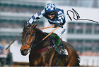 Richard JOHNSON SIGNED Jockey 12x8 Photo AFTAL COA Autograph Gold Cup WINNER