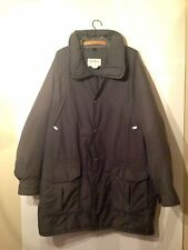 L.L. Bean Mens XL Wardens Coat Gore Tex Made in USA Green  Long USA Made Maine